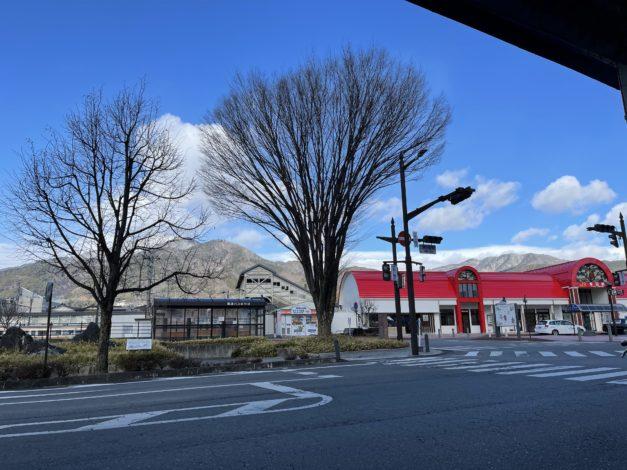 飯田駅前は 冷凍庫の中です